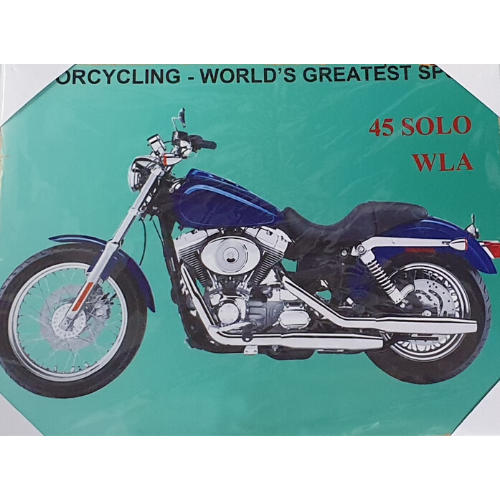 Motorcycling - Worlds Greatest Sport Canvas Print
