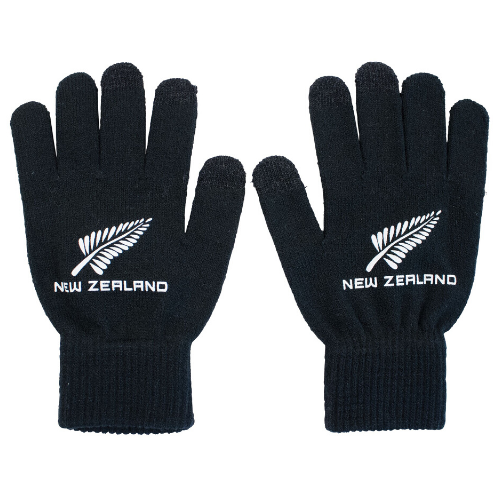 Touch Screen - Sports Fern Gloves - Black