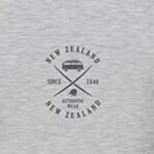 Adults - Combi NZ - Tee - Grey Marle