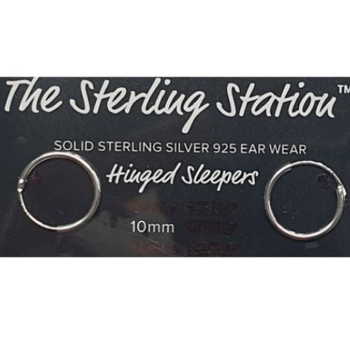 Sterling Silver Sleepers