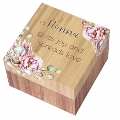Nana Bunch of Joy Sentiment Trinket Box