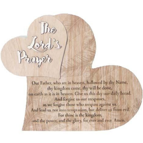 Lords Prayer Heart