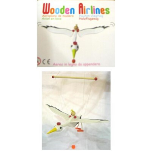 Wooden Airlines Stork