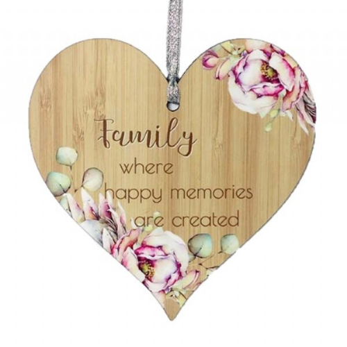 Family - Bunch of Joy Hanging Heart