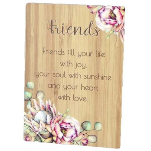 Friends - Bunch of Joy Sentiment Plaque