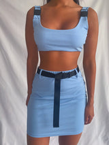 Simmi Neon Co-ord in Blue