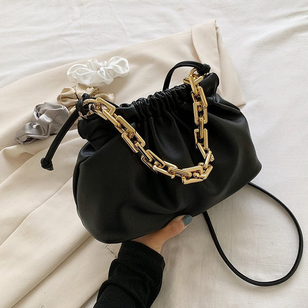 Detachable Strap Chain Pouch