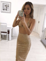 Cassie Glitter Two Piece