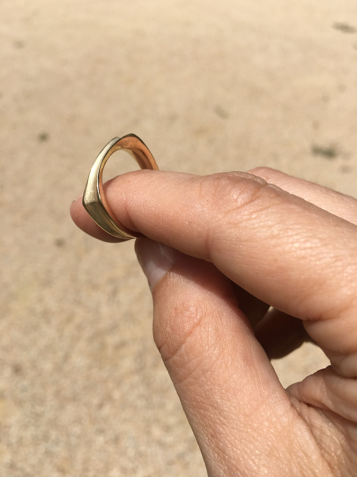 Ursa Major Valley Ring Gold