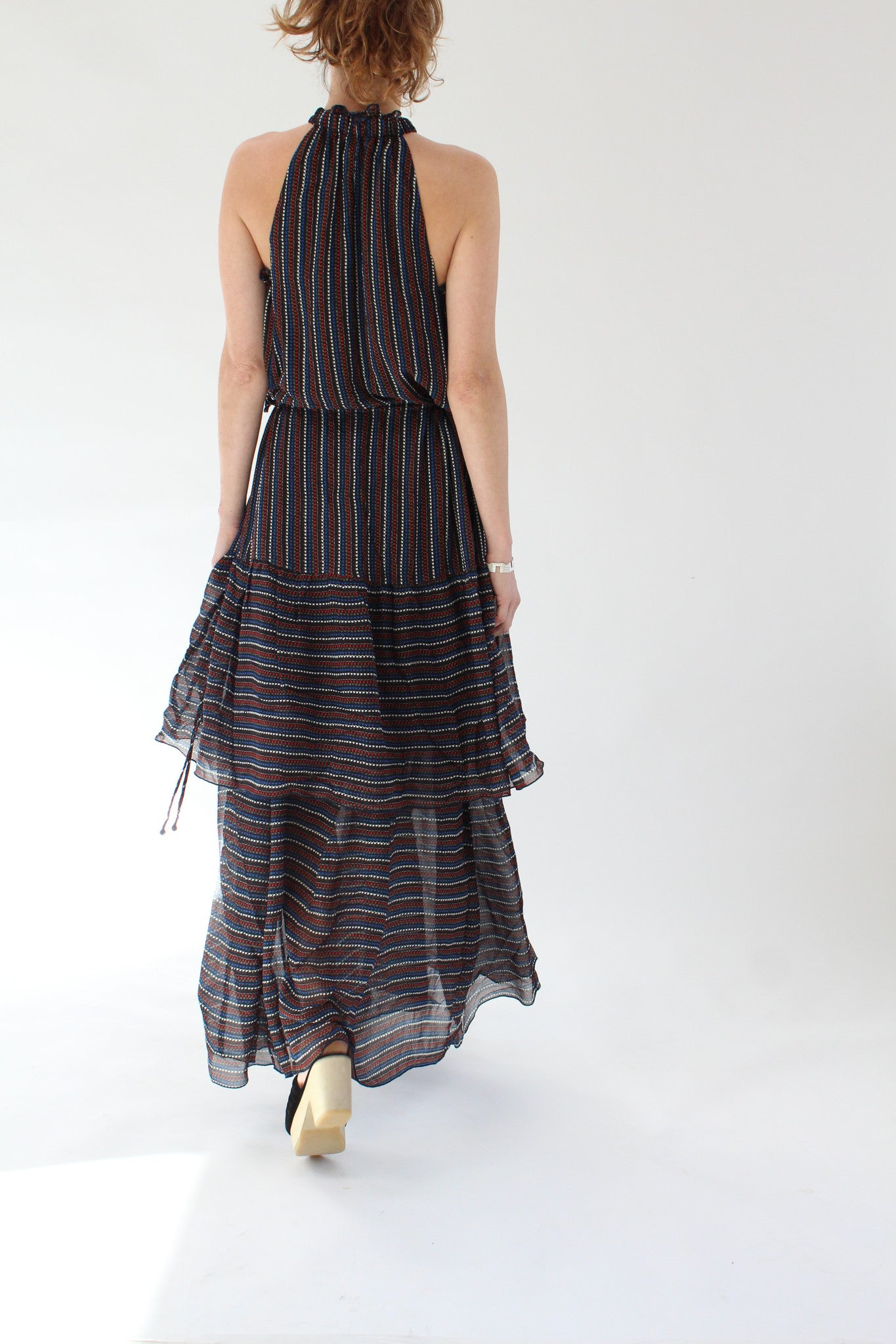 Apiece Apart Pozos Tiers Dress At Beklina