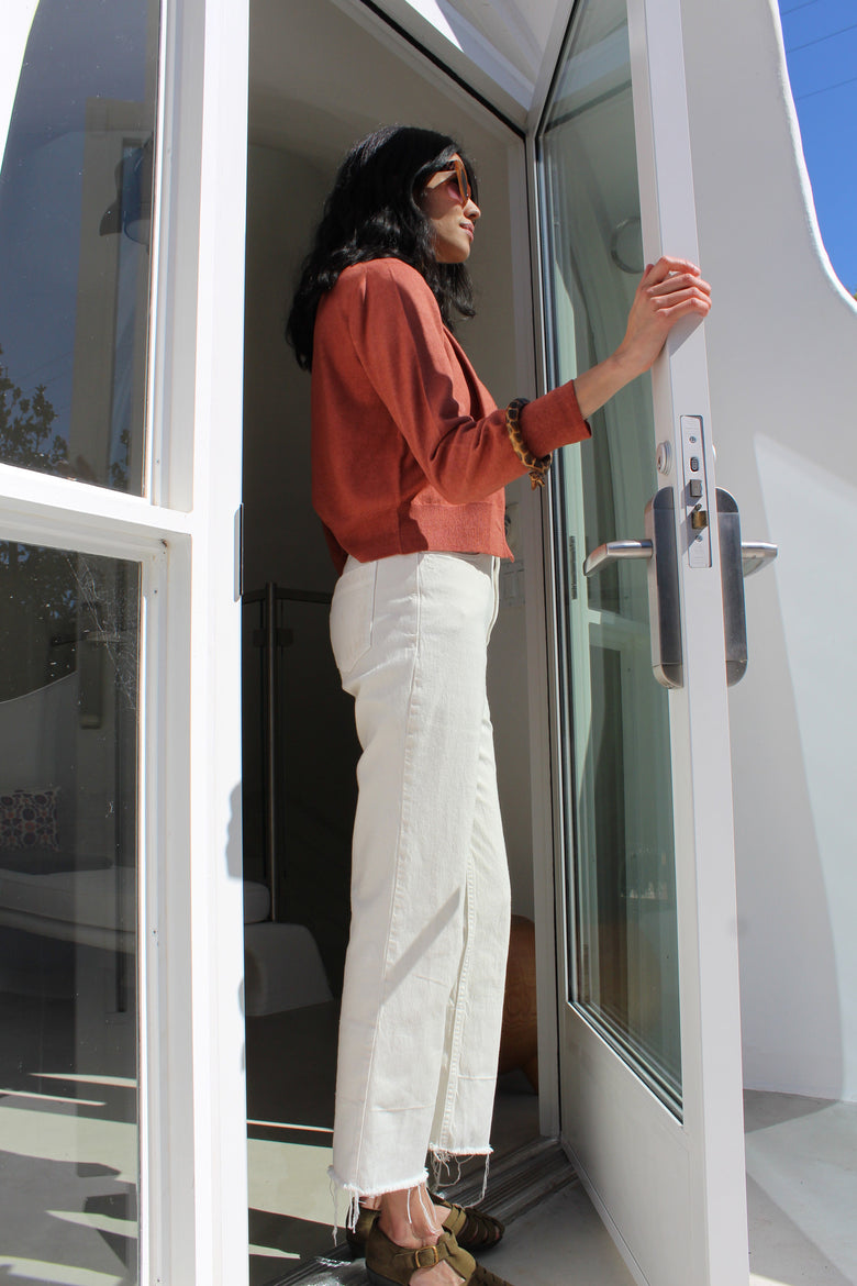 Rachel Comey Slim Legion Pant Dirty White At Beklina