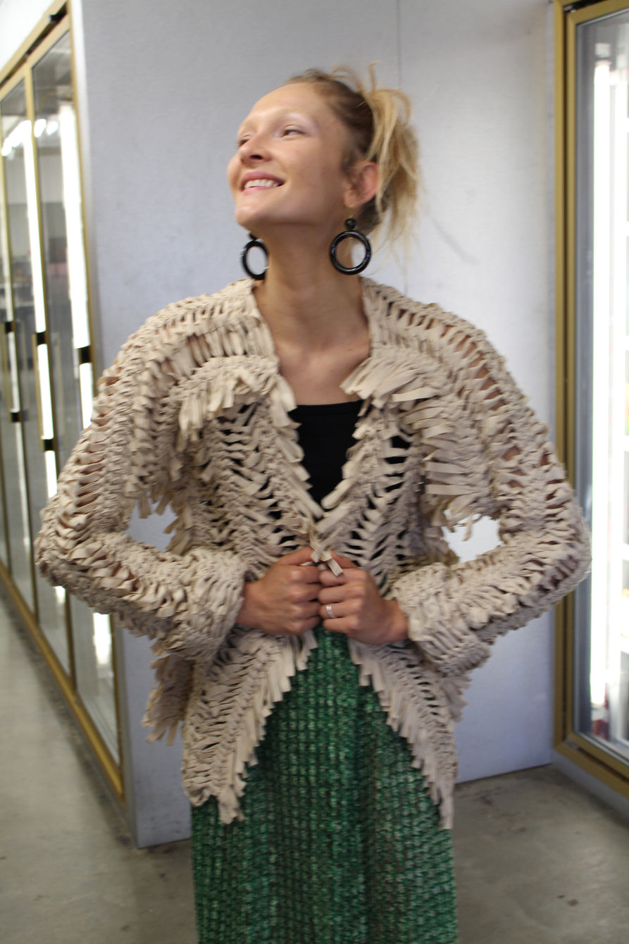 A Détacher Jezebel Jacket Ecru