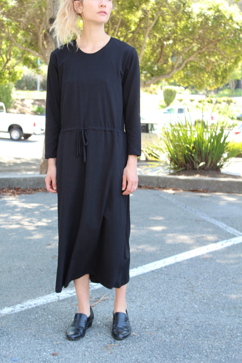 Kowtow Building Block Lounge Dress Black