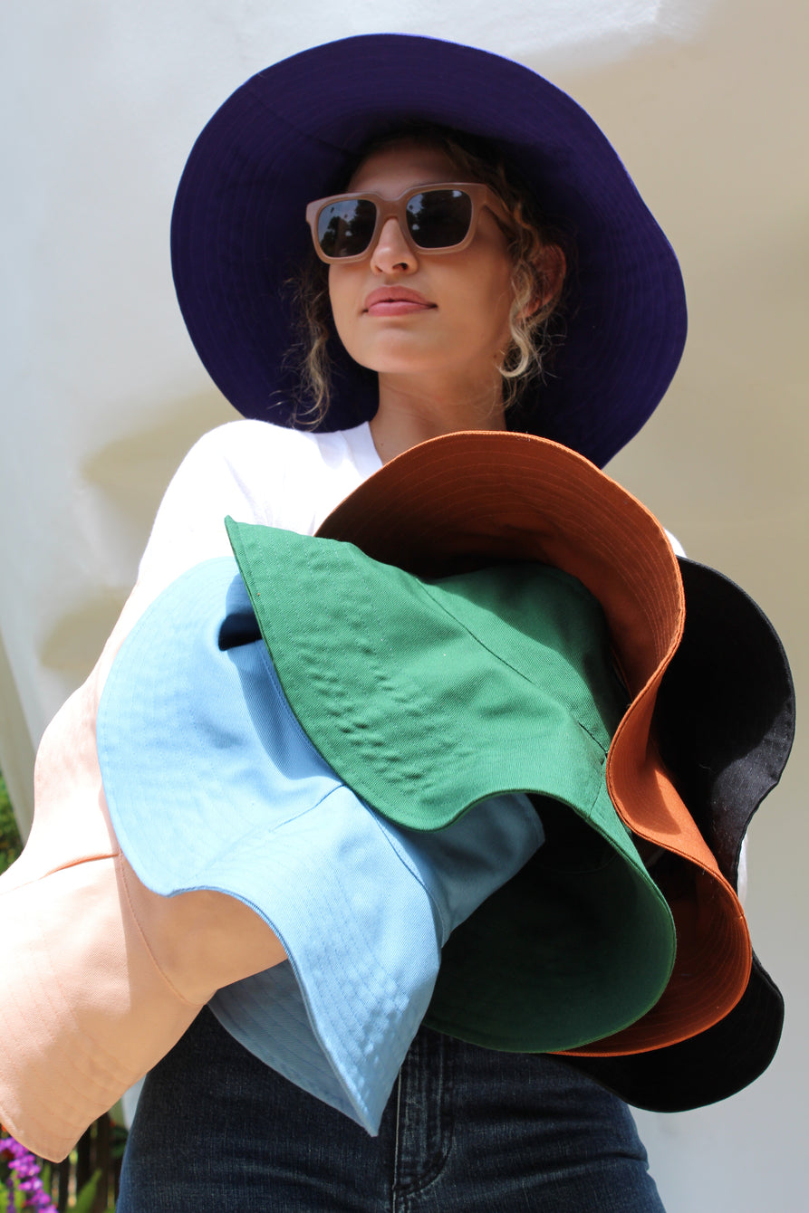 Lina Rennell Topless Wide Hat