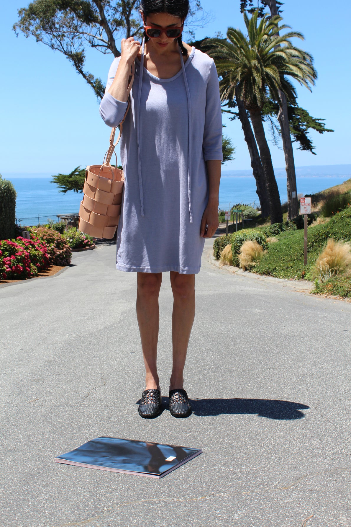 Beklina French Terry Dress Lilac
