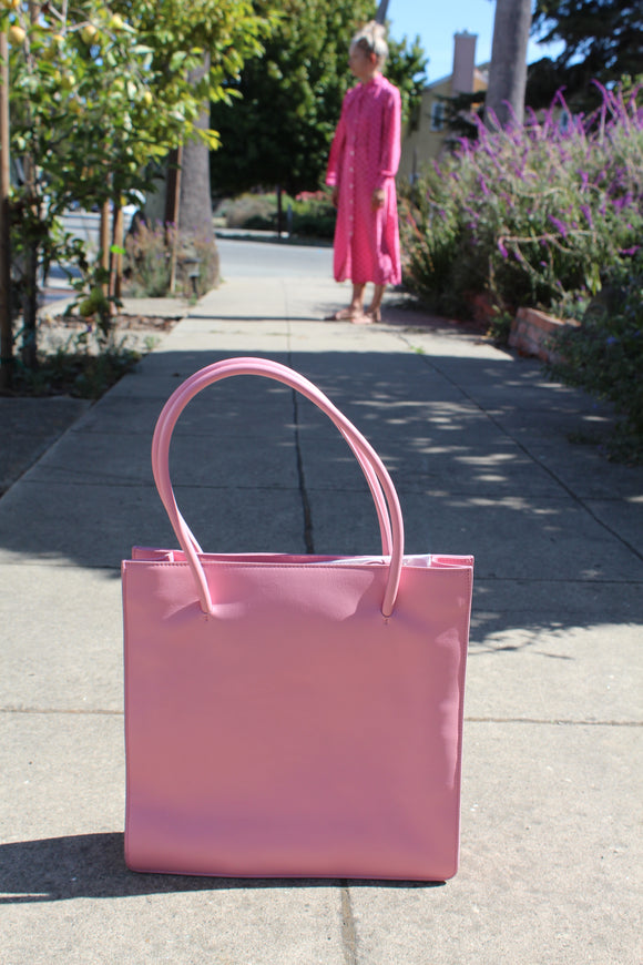 MNZ Anais Tote Coral Patent