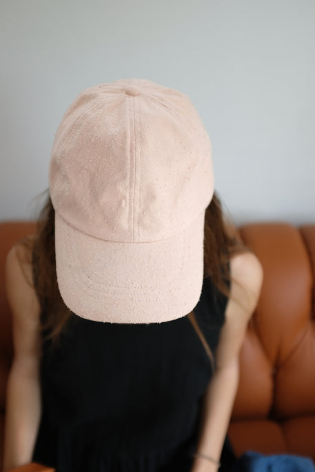 Colorant Fitted Cap Raw Silk