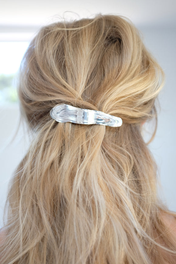 Leigh Miller Sterling Silver Alaria Barrette