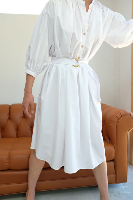 Beklina Tondo Dress White