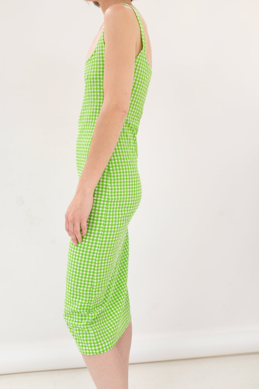 MNZ Salma Dress Stretch Gingham