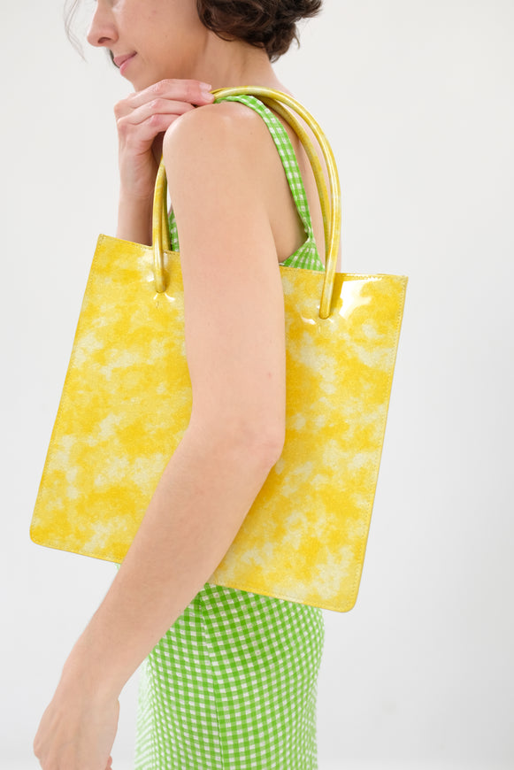 MNZ Anais Tote Canary Glitter