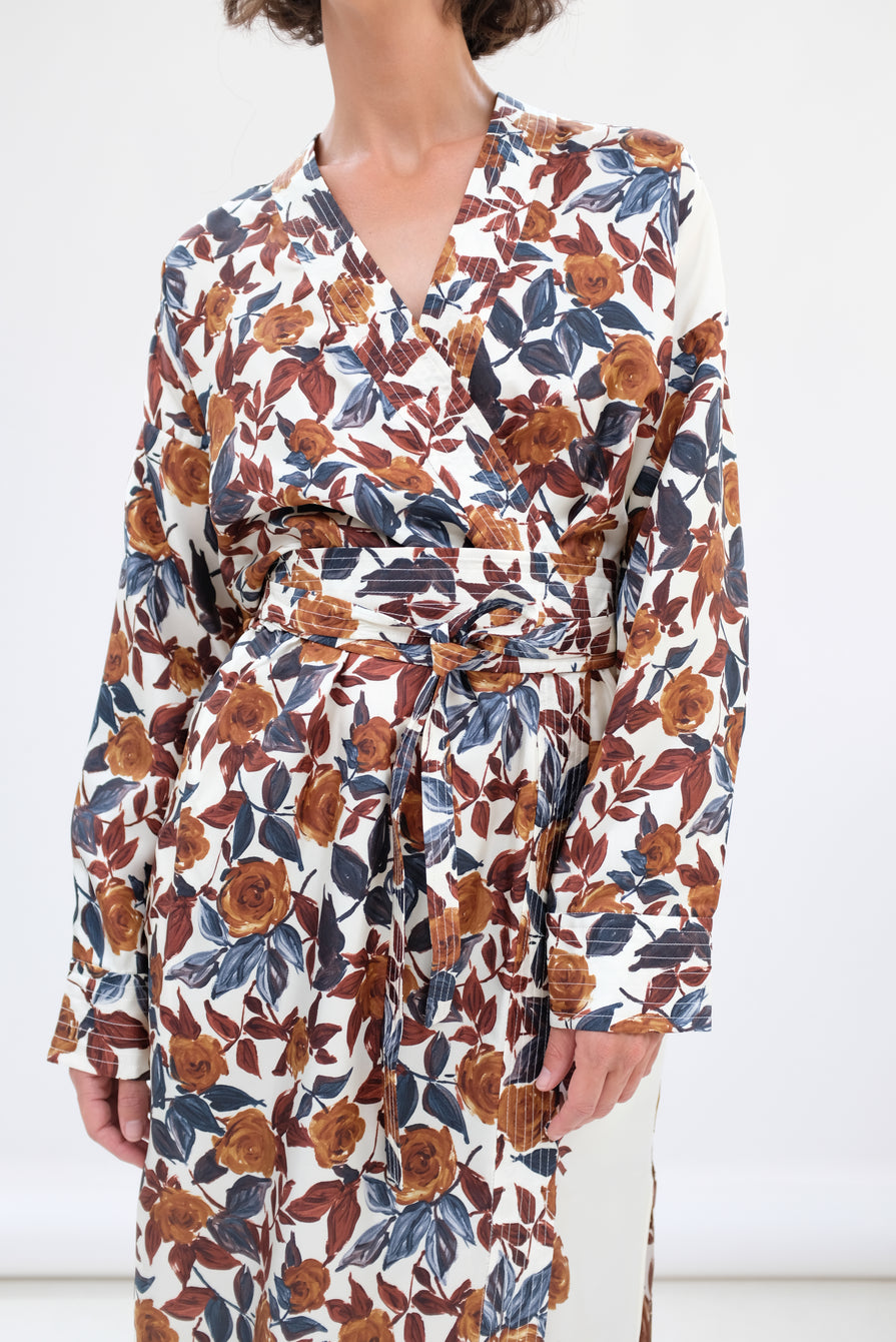 Rachel Comey Toga Dress Brown