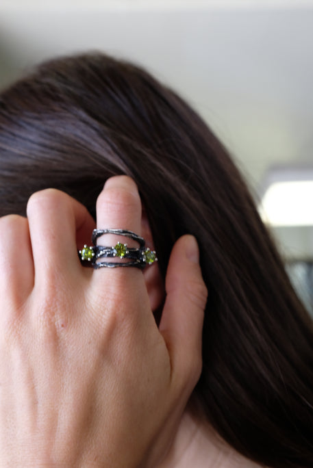 Voodoo Jewels Little Karakum Ring