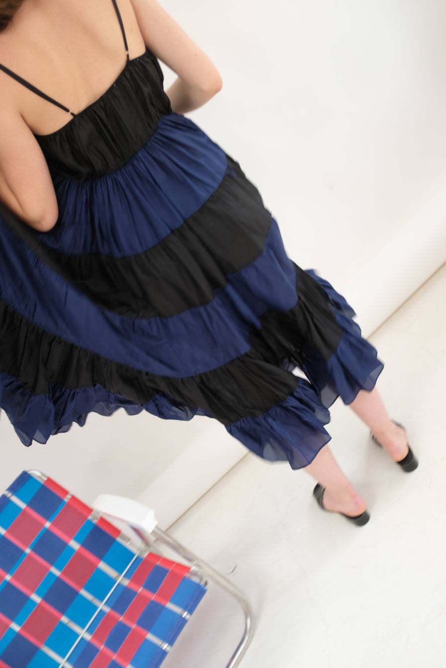 Carleen Christo Dress Black / Navy