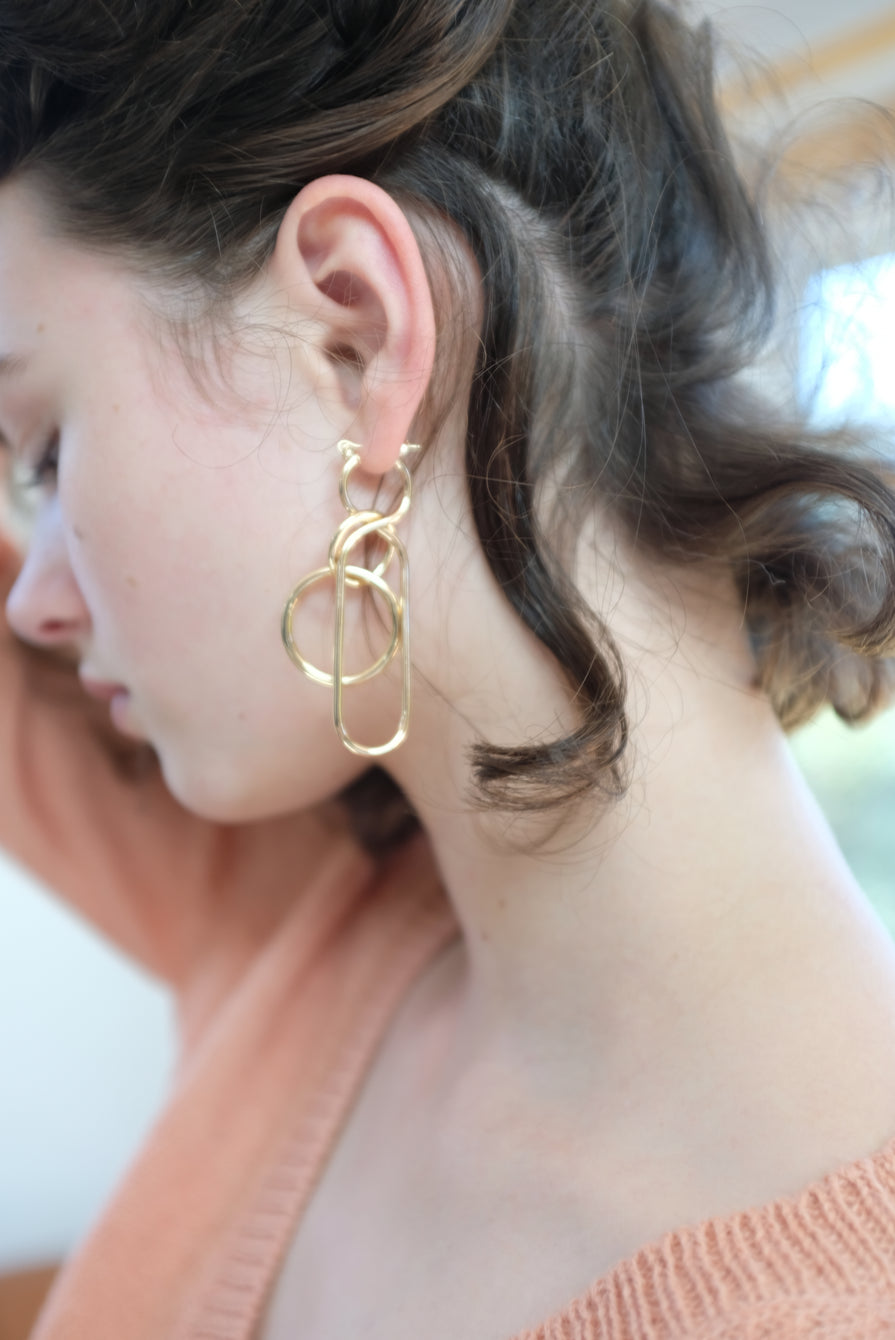 A Détacher Fern Earrings