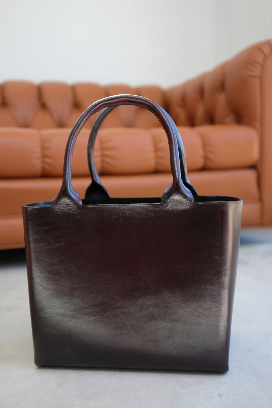 Lauren Manoogian Box Tote Cacao
