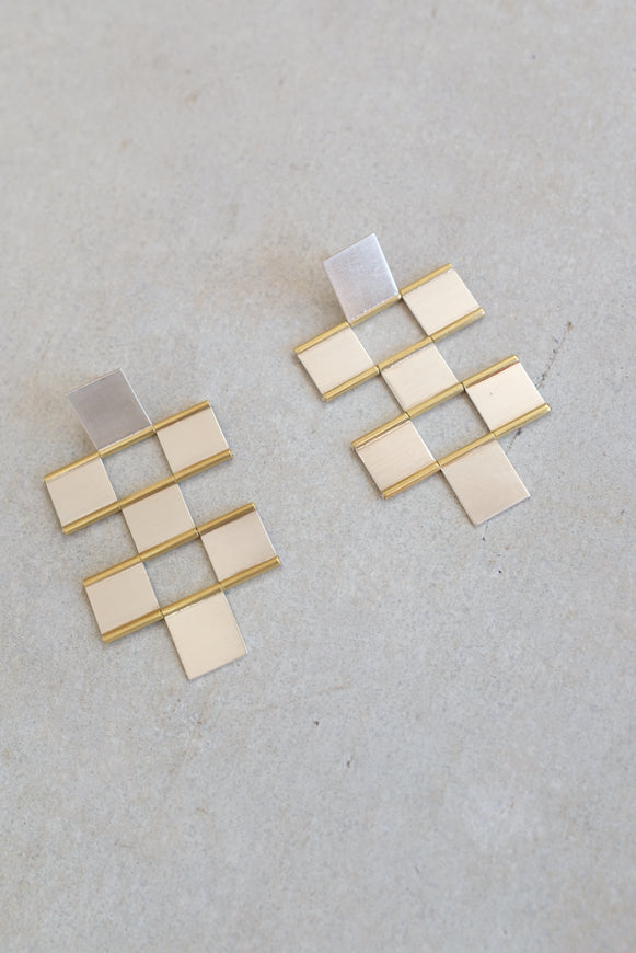 HannahK Tile Earrings