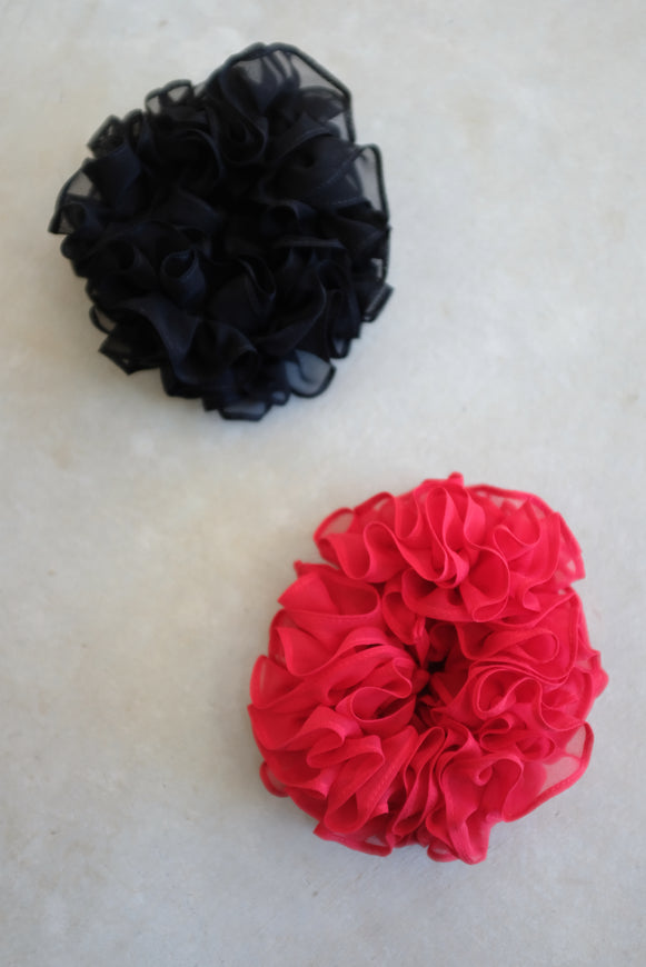 Maryam Nassir Zadeh Carnation Scrunchie