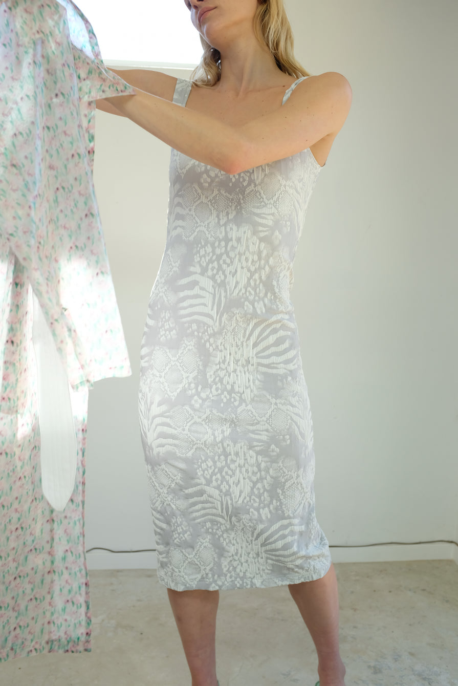 Maryam Nassir Zadeh Salma Dress Crinkle Flora