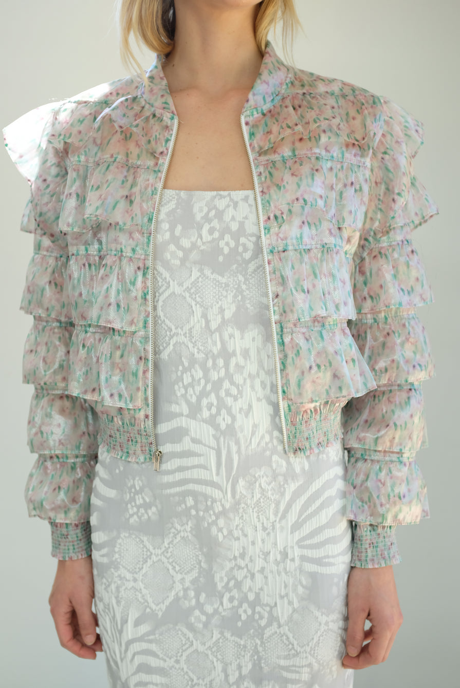 Maryam Nassir Zadeh Lotus Jacket