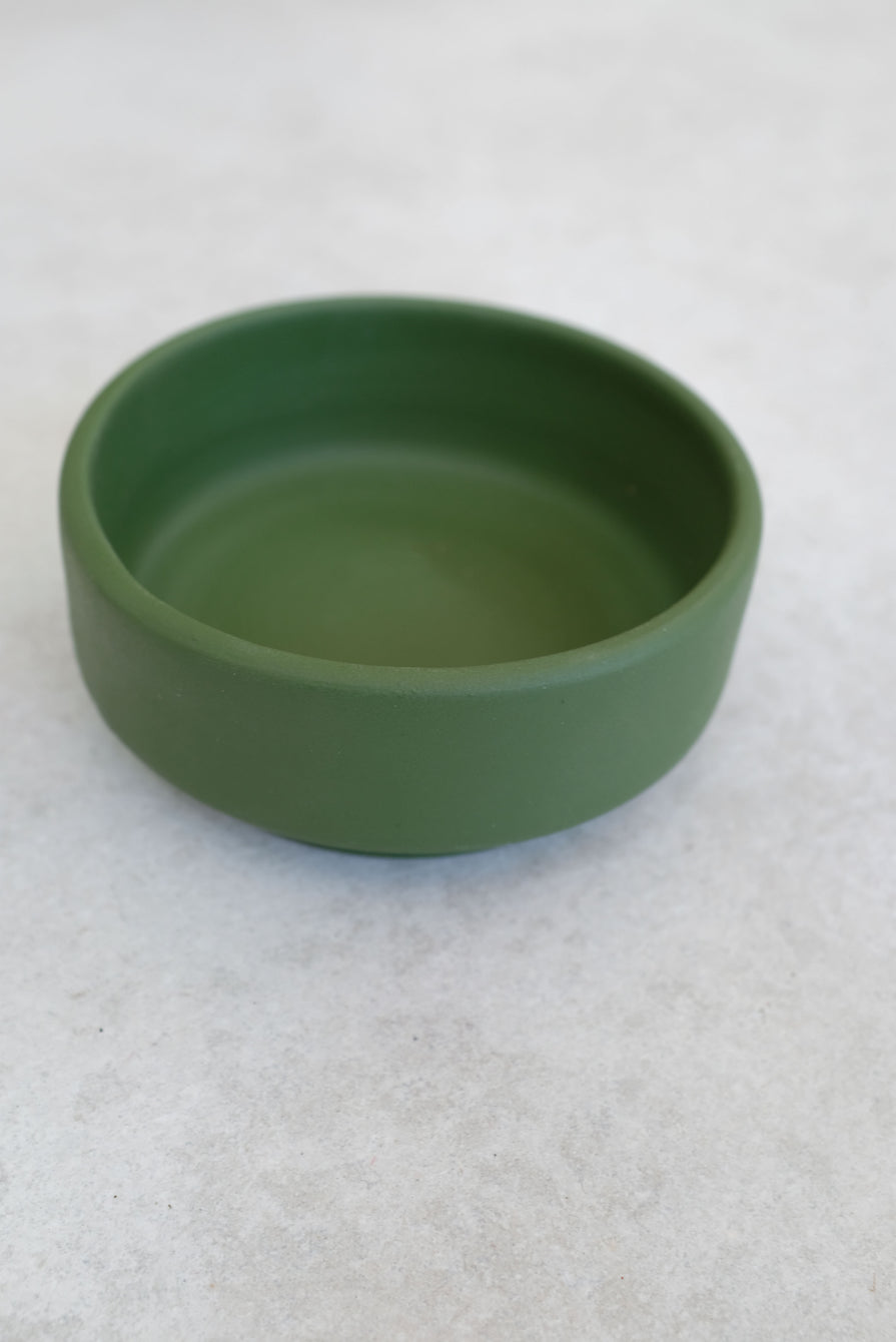 Ceramic Handmade Green Bowl