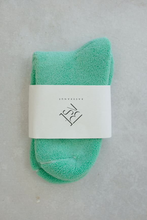 Baserange Buckle Over Ankle Socks Mint