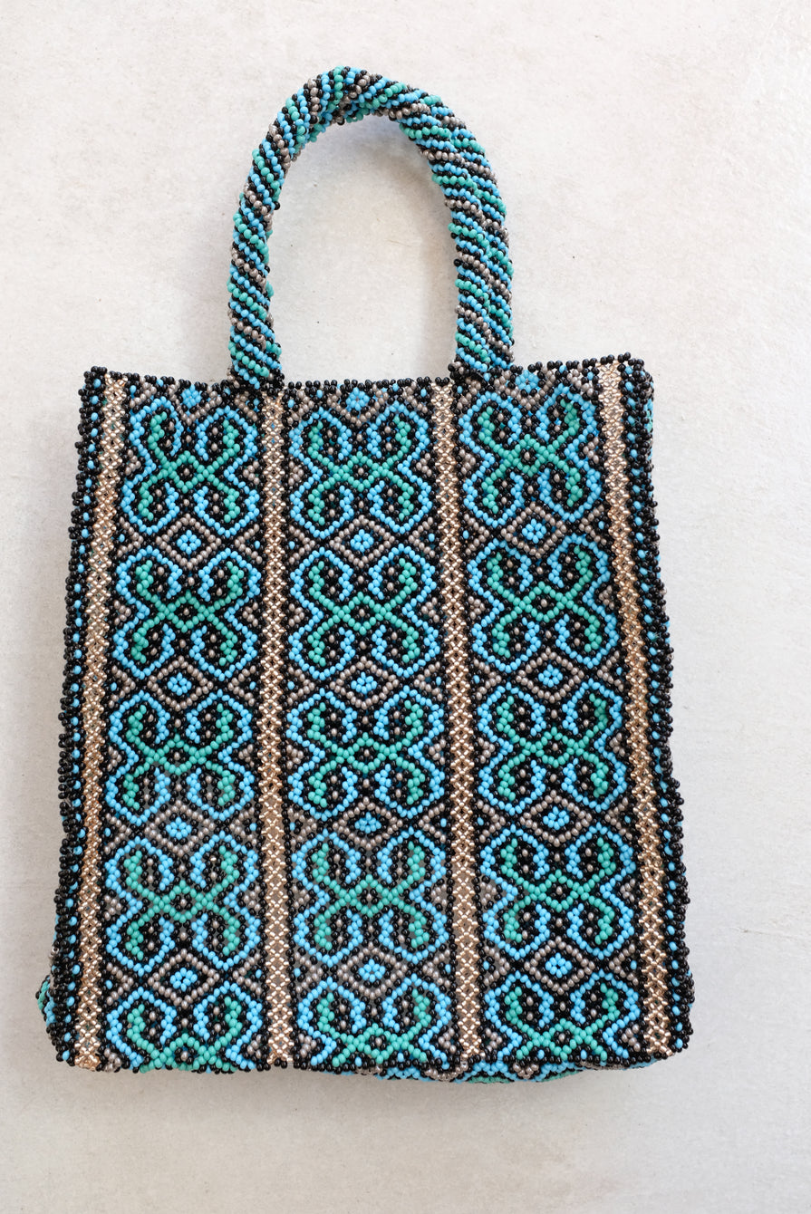Mozh Mozh Beaded Bag Sea