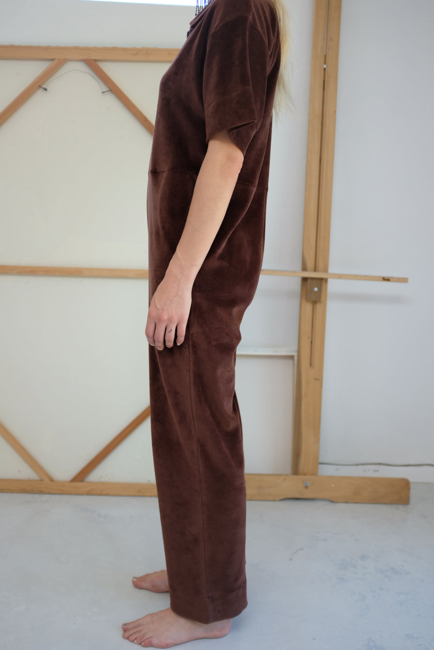 Baserange Suru Jumpsuit Turnip Brown