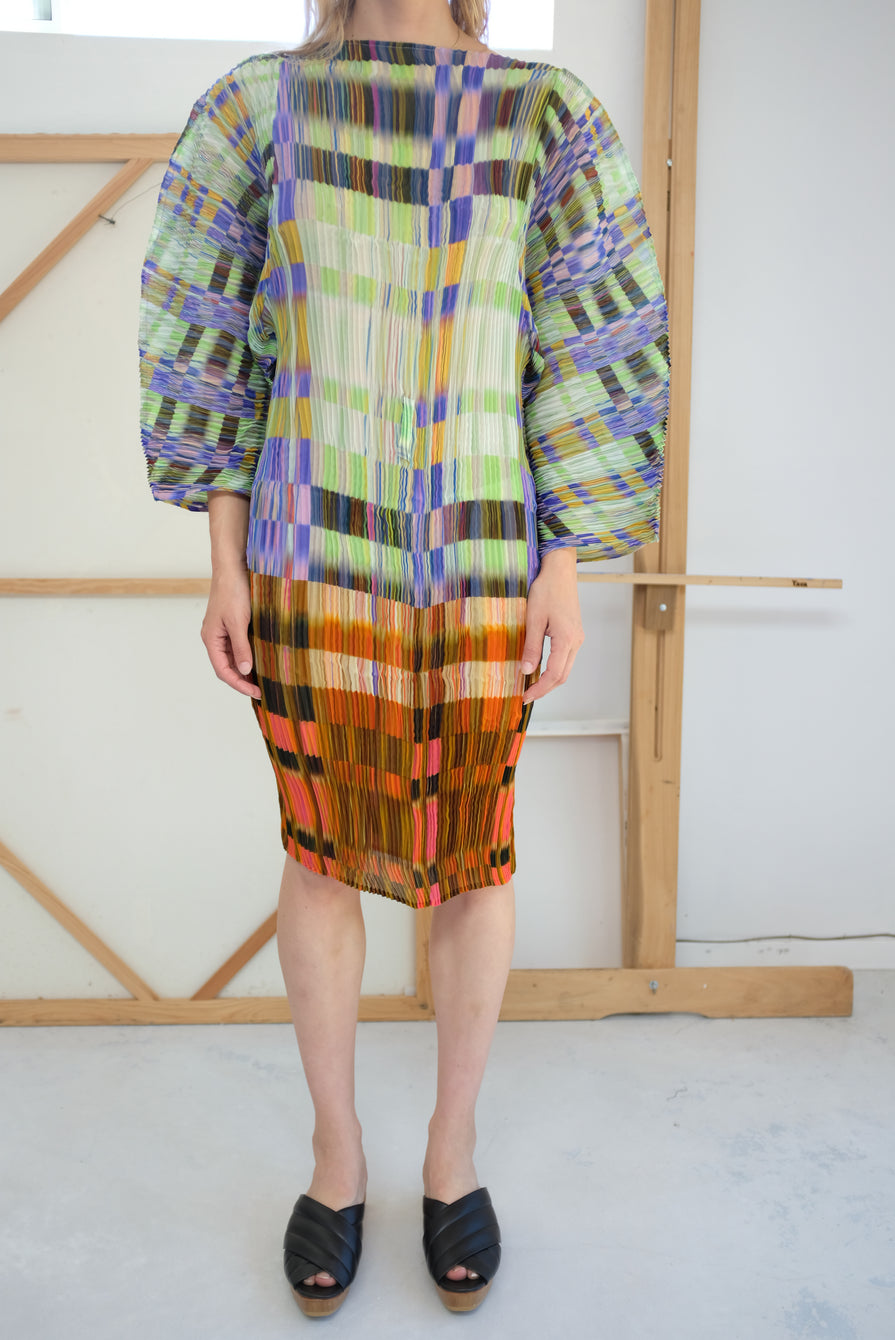 Julia Heuer Ramo Short Dress Madras