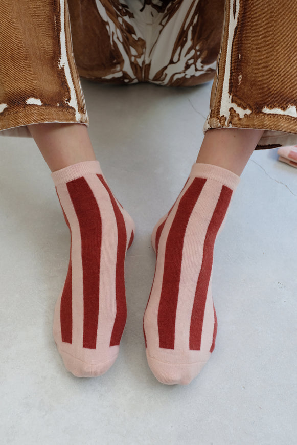 Beklina Cashmere Socks Stripes