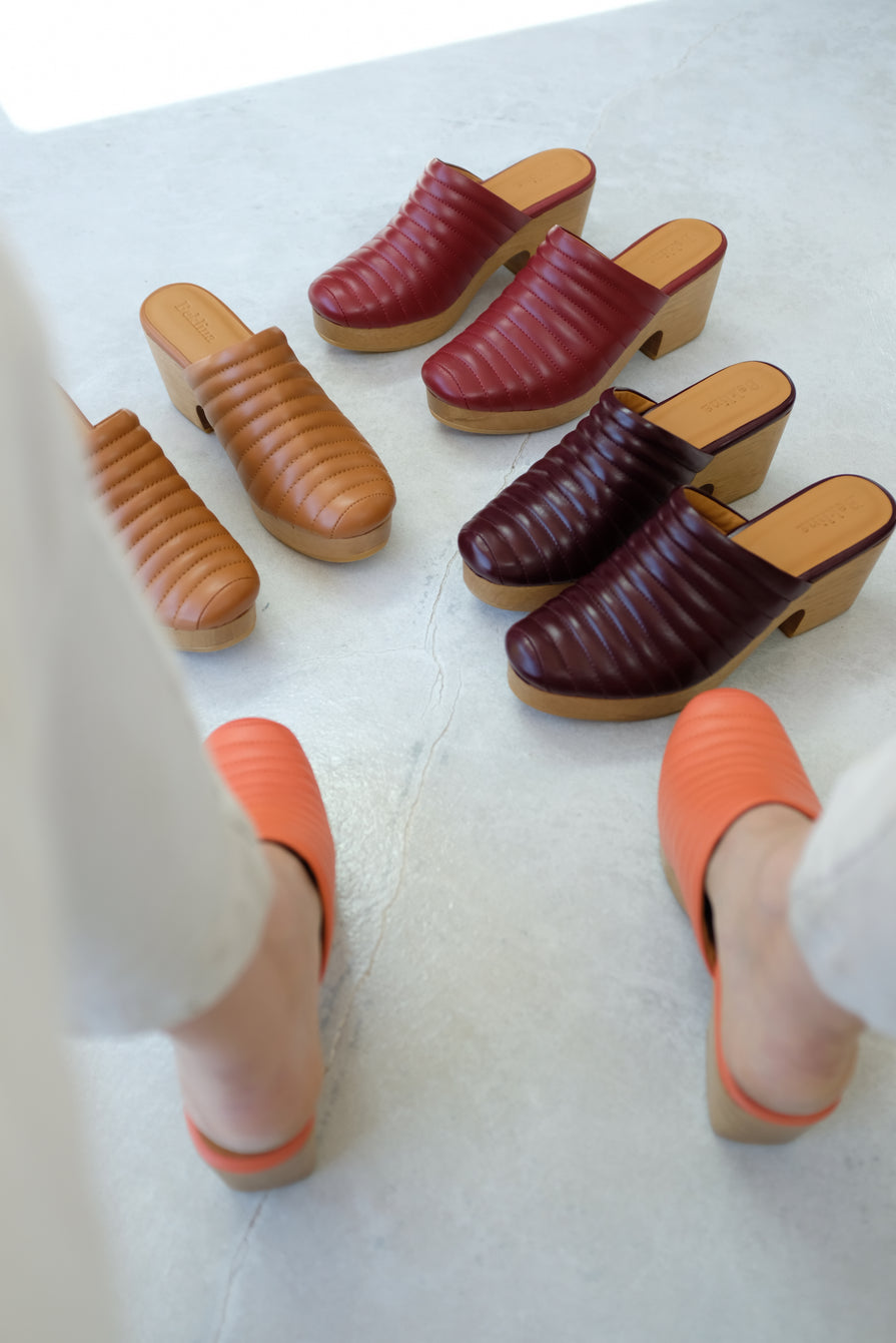 Beklina Ribbed Clog Fruit