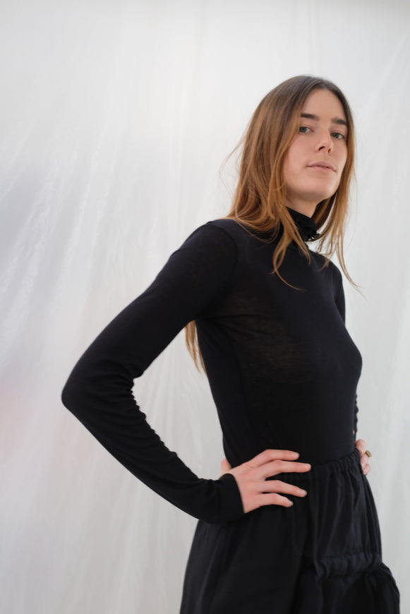 Baserange Puig Turtleneck Black