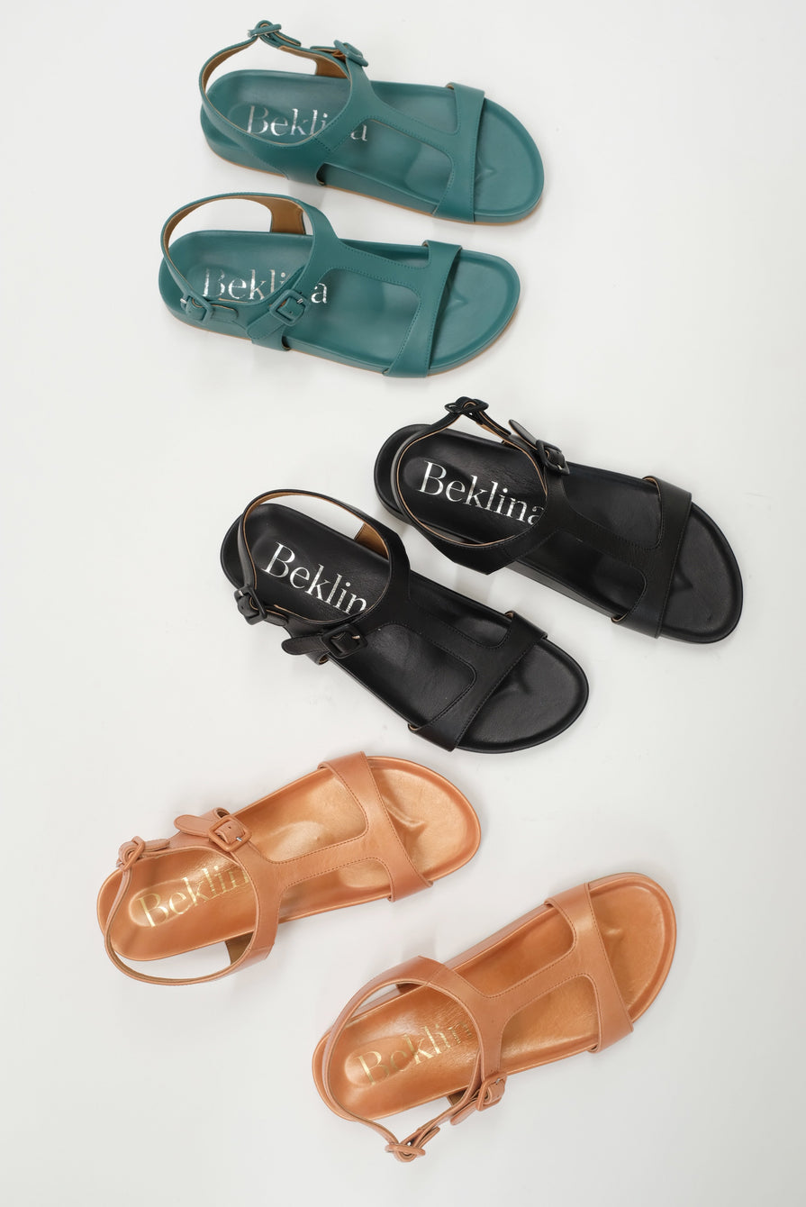 Beklina Travel Sandal Black
