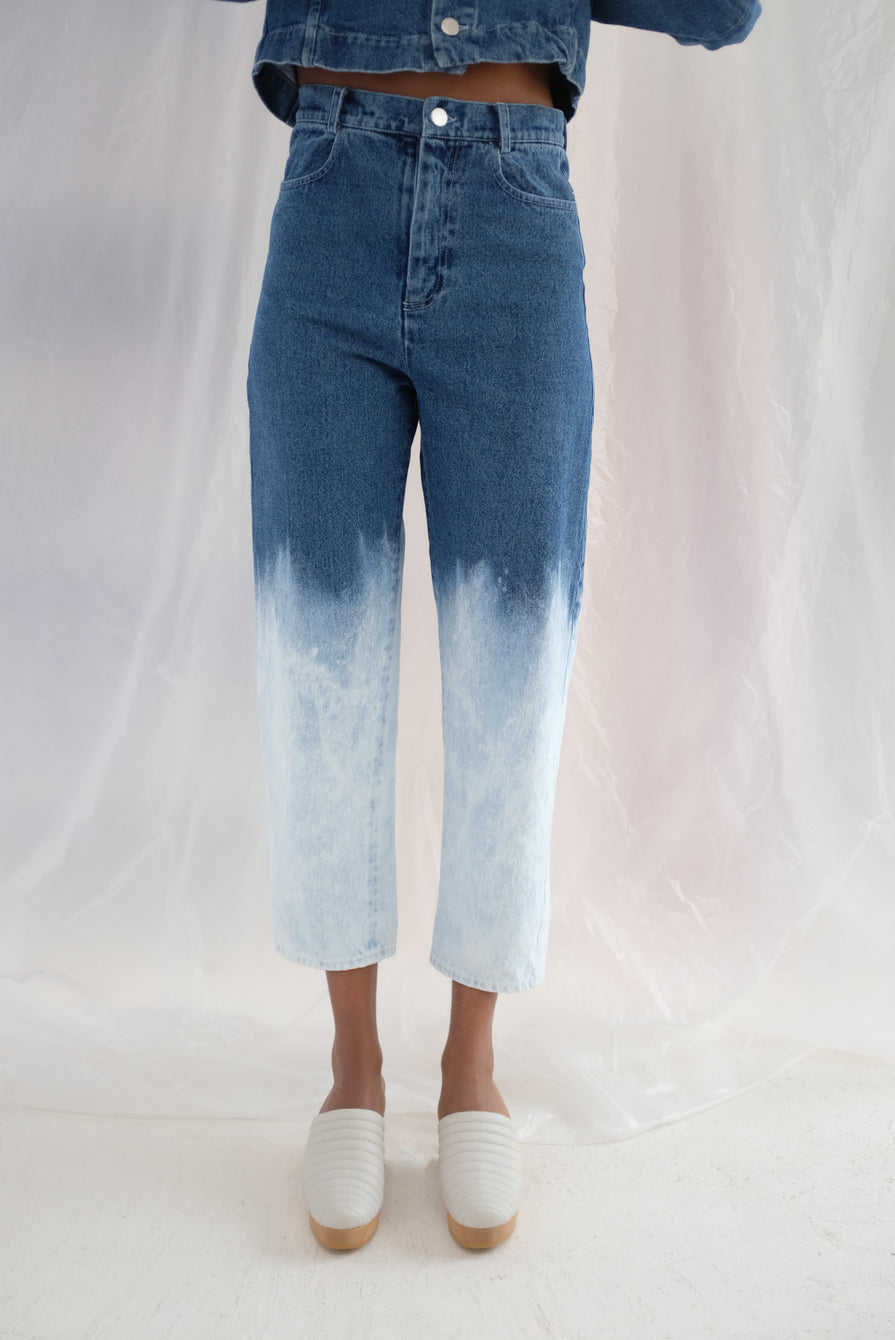 Anntian Ordinary Womens Pant Bleached Gradient