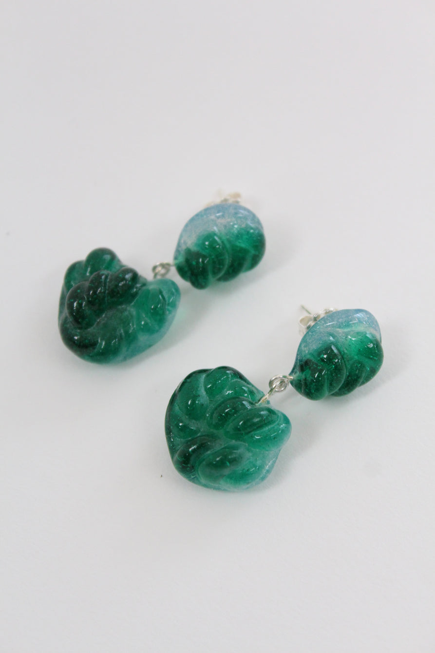 Leigh Miller Glass Rope Earrings