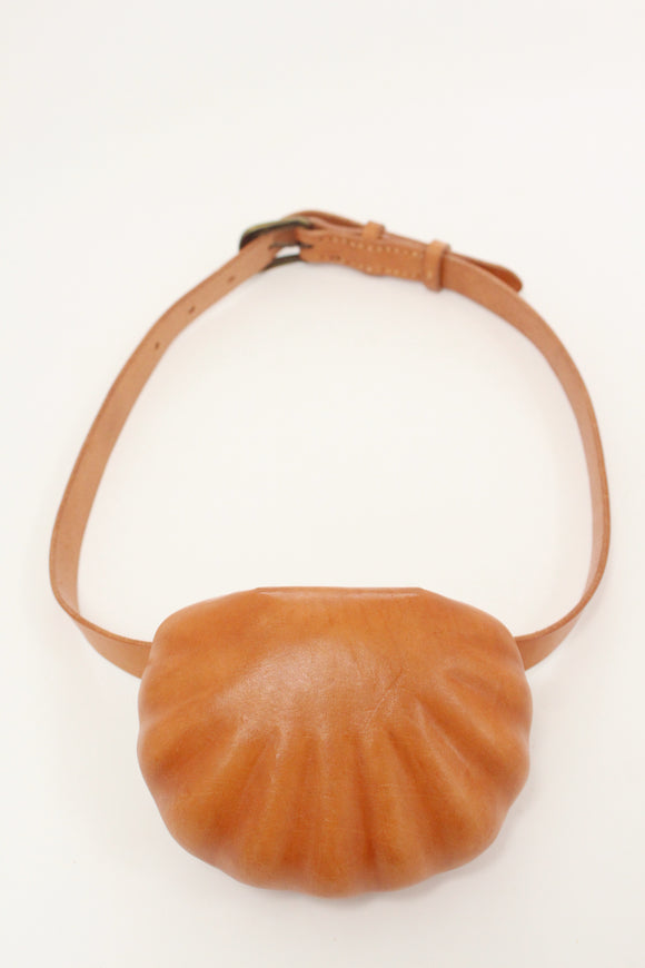 Beklina Leather Shell Belt Bag