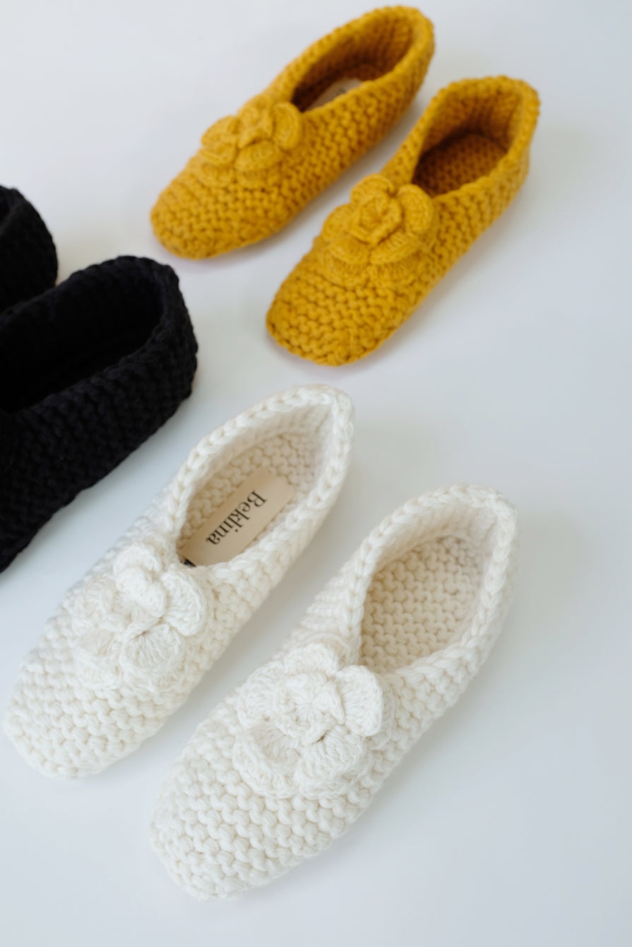 Beklina Madrid Knit Slippers