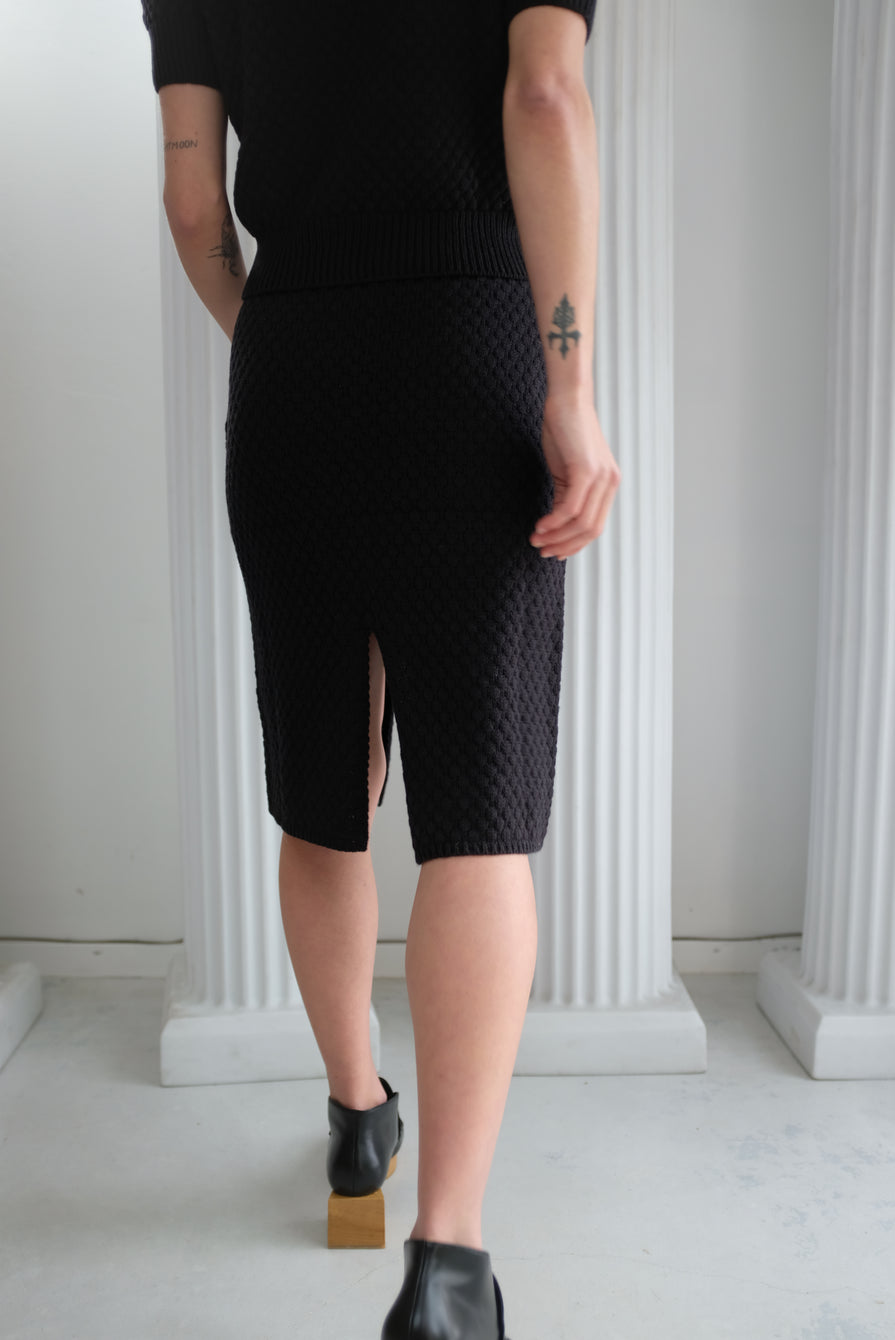 Beklina Gambit Skirt Licorice