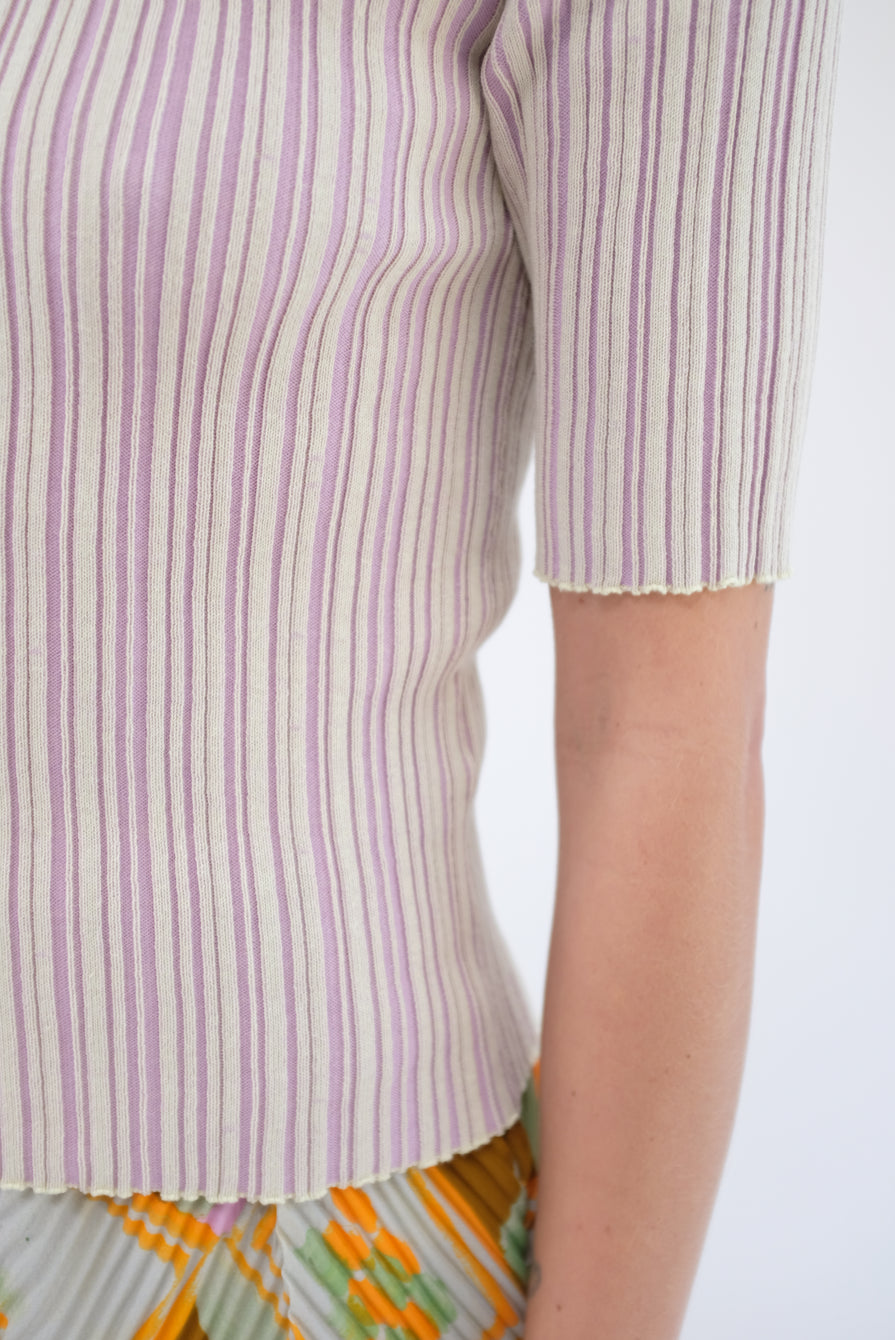 Julia Heuer Fred Knitted Pleats Top