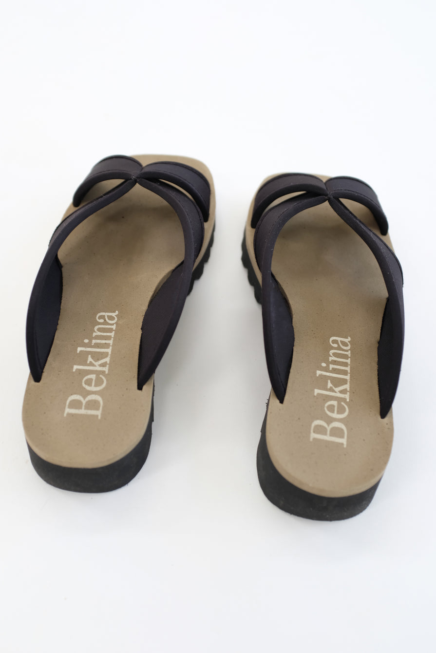 Beklina Water Sandal Slide Black
